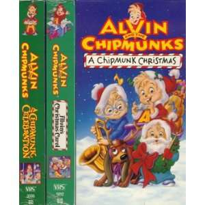 Alvin and the Chipmunks (Christmas Celebration 3 pack