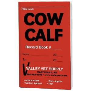Cow Calf Record Book