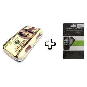BUNDLE LG Optimus Q L55c 100 Dollar Bill Money + CLEAR LCD