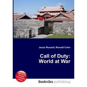Call of Duty World at War Ronald Cohn Jesse Russell