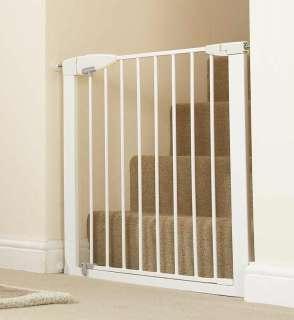 Munchkin Easy Close Metal Gate, White: Baby