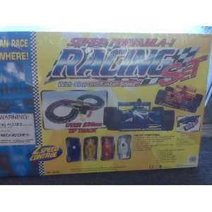 Super Formula 1 Racing Car Set, with Slow and Fast Speed