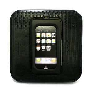 Portable Speaker Dock for iPod Touch and iPhone w/ 90 Degree Rotation