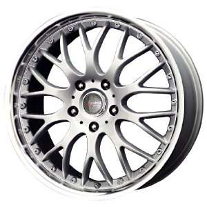 Drag DR 19 Silver Machined Wheel (17x7.5/5x100mm
