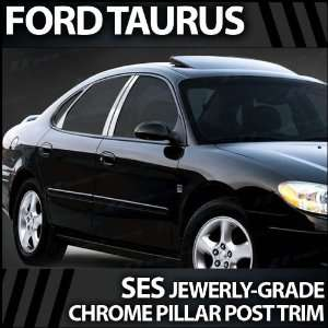 1997 2004 Ford Taurus 6pc. SES Chrome Pillar Trim Covers