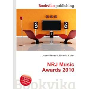 NRJ Music Awards 2010 Ronald Cohn Jesse Russell Books