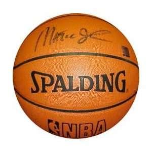 Magic Johnson Autographed/Hand Signed Spalding Pro