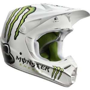 Fox Racing V3 RC Monster Pro Helmet (Small): Automotive