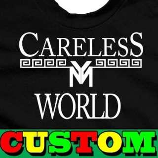 CARELESS WORLD YOUNG MONEY CUSTOM T SHIRT
