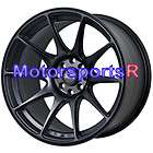 17 XXR 527 Flat Black Staggered Wheels Rims Stance 89 90 91 92 Nissan