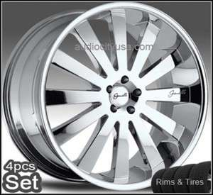 26inch Giovanna Wheels and Tires Tahoe Escalade Chevy Rims Silverado
