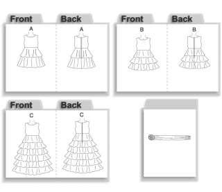 B4967 Patron Couture Demoiselle de Honneur Robes 2 5 Schnittmuster BTR