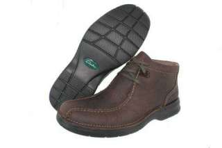 CLARKS GLASTONBURY BROWN MENS ANKLE BOOT Size 8.5 M 053448528070