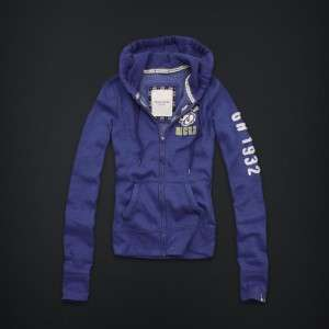 NWT GILLY HICKS Abercrombie Sweat shirt Hoodie S NEW