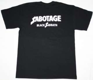 BLACK SABBATH SABOTAGE75 DEEP PURPLE OZZY OSBOURNE DIO S XXL NEW
