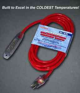 5Meter (16Ft) 16 Gauge STW Sub Zero 600V 3 Way Engine Block Heater