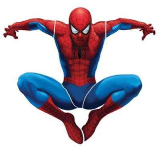 Amazing Spider Man Spidey Giant 36 x 33 Wall Decal Stickers Boys