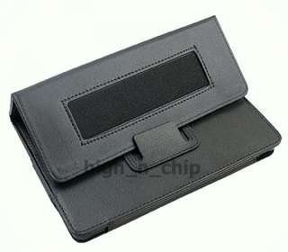 Quality Leather Folio Case Pouch Stand w/ armband for  Kindle