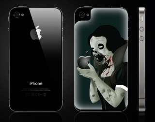Zombie Princess decal for iPhone 4G   vinyl sticker