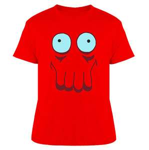 Zoidberg Futurama Big Face T Shirt