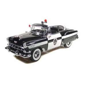 1954 Chevy Bel Air Police Car 1/18: Toys & Games