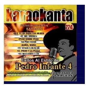 Karaokanta KAR 4274   Al Estilo de Pedro   IV Spanish CDG