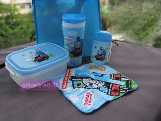 Thomas & Friends 6 in 1 Cup Lunch Box Spoon Towel bag