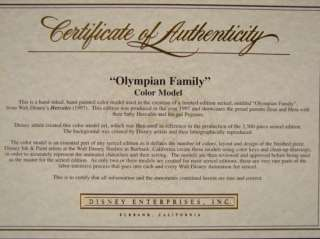 as a reference in making the Olympian Family (Ltd 2500) Sericel