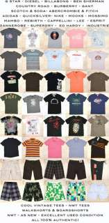 BILLABONG   NEW Sz M Mens Ombre Houndstooth Surf T Shirt   Retro Print