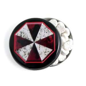 Evil Candy Tin Umbrella Corporation Outbreak Mints: Toys & Games