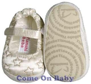 Newborn Infant Girls Toddler Baby Crib Shoes 0 3m NB