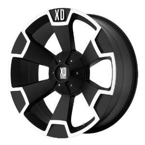 18x9 KMC XD Thump (Matte Black) Wheels/Rims 8x165.1 (XD80389080700)