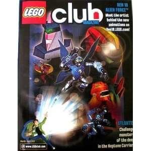 CLUB Magazine March/April 2010 Bionicle Comic Magazine March. 2010