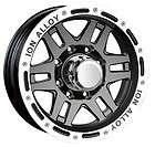 16x8 ION Alloy 133 Black Wheel/Rim(s) 5x135 5 135 16 8