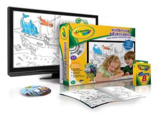 Crayola Undersea Adventures Color Matching Board Game Toys & Games