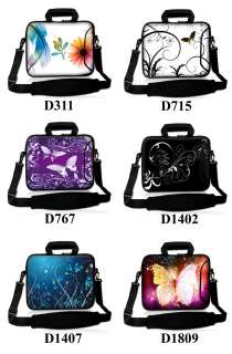 15.6 Neoprene Laptop Carrying Bag with Extra Side Pocket Sleeve Case