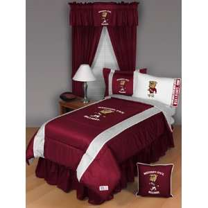 Mississippi State Jersey Mesh Comforter   Full/Queen
