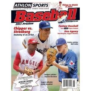 Athlon Sports 2011 MLB Baseball Preview Magazine  San Diego Padres
