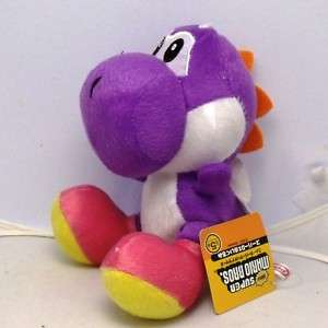 Nintendo Super Mario Purple Yoshi Plush Doll Figure