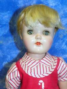Toni Ideal P92 1940s Era 18 Blond Hair Doll w Dress Shoes & Socks