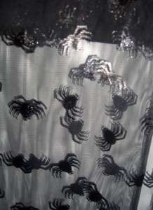 Spooky Halloween Spider mesh fabric 1y sewing quilting