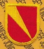 ADA Artillery 101st Airborne beret flash patch