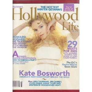 Hollywood Life Dec/Jan 2005   Kate Bosworth, Rachel Bilson: Books