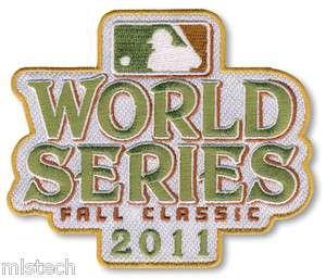 Official MLB Patch Emblem World Series 2011 St Louis Cardinals