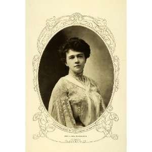Clara Bloodgood Tragic Death   Original Halftone Print