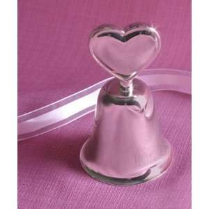 Wedding Bell Favor with Heart Handle 3 3/8 Everything