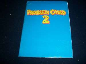 PROBLEM CHILD 2 MOVIE PRESS KIT JOHN RITTER  PK 427
