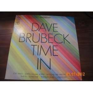 Dave Brubeck Time In (Vinyl Record) Dave Brubeck Music
