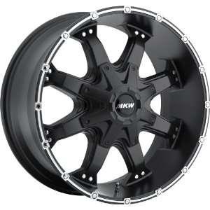 17x9 MKW M83 (Satin Black) Wheels/Rims 6x135/139.7 (M83