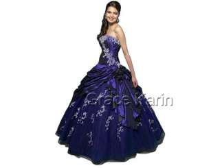 Wedding Dress Bridesmaid Evening Party Prom Gown Formal Dresses